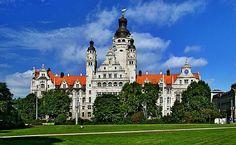 Neues Rathaus #Leipzig, #Deutschland / #Germany    © Appaloosa, de.wikipedia