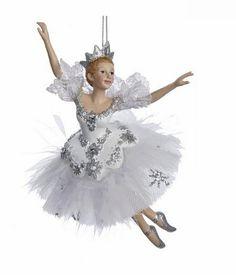 Kurt Adler 'Snow Queen Ballerina' Nutcracker Suite Ornament