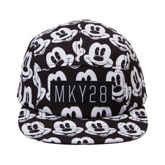 b38b759c979 Shop for Neff Mickey 5 Panel Hat in White Black at Journeys Shoes. Shop  today