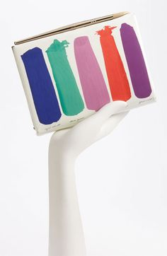 kate spade new york 'brushstroke' clutch