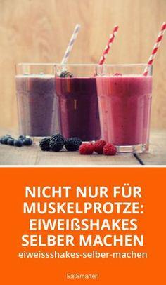 Nicht nur für Muskelprotze: Eiweißshakes selber machen   eatsmarter.de