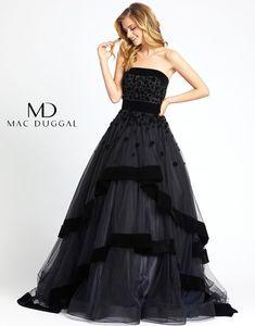 Strapless Dress Formal, Formal Dresses, Wedding Dresses, Mac Duggal, Cosplay Outfits, Horse Hair, Classy Dress, Bohemian Style, Dress Skirt