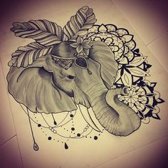 elephant tattoo thailand - Recherche Google