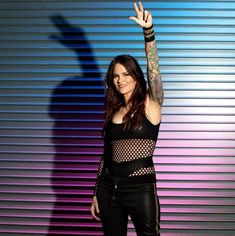 Behind the scenes at WWE Evolution: photos Wrestling Stars, Wrestling Divas, Women's Wrestling, Wwe Lita, Wwe Trish, Wrestlemania 29, Jeff Hardy, Wwe Girls, Wwe Champions