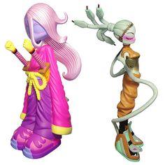 Kissaki Purple Lust & Medusa Dusted by Erick Scarecrow x ESC Toy