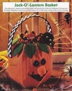 Jack-OLantern Halloween Basket BYOB Build Your Own Binder