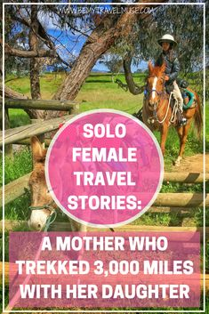 Read the story of an incredible single mother who trekked 3000 miles through Australia's Bicentennial National Trail with her daughter   Be My Travel Muse   Single parent travel story   travel with children   solo female travel