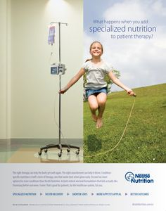 "Nestlé Nutrition (U.S.) – ""The Power of Nutrition"" by Chris Paleczny, via Behance"