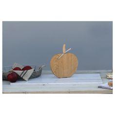 Handmade Apple Orchard oak chopping board #British #kitchen