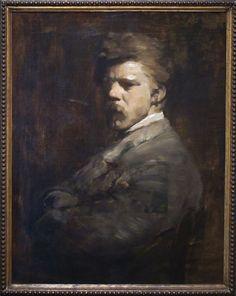 Frank Duveneck self portrait