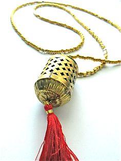Kav Prayer Bead Necklace