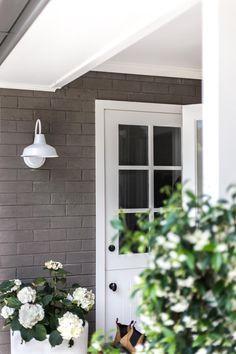 Cottonwood - exterior barn lights and Dutch door