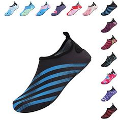 72aa98aed212 FANTINY Mutifunctional Barefoot Shoes Men Women and Kids Quick-Dry Water  Shoes Lightweight Aqua Socks For Beach Pool Surf Yoga  Exercise
