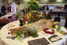 Tomnaha Flowers Market Garden Comrie Croft Wedding fair Odd Box