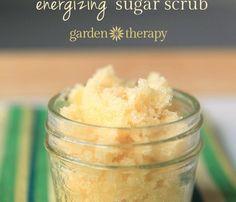 Simple Sugar Scrub Recipe in Two Energizing Scents