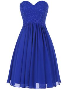 Buy Simple A-line Appliques Royal Blue Short Bridesmaid Dresses 2016 Bridesmaid Dresses under US$ 99.99 only in SimpleDress.