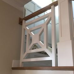 """@crystalhintze's photo: """"Love these stair rails at parade home #4 @rcdentcustomhomes Creative and Unique! #design #interiordesign #staircase #trim #moulding"""""""