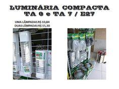 luminária compacta. www.nolut.com.br