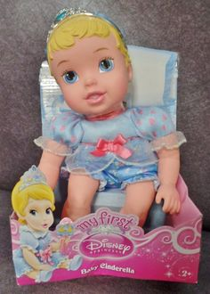 Description: My First Disney Princess Baby Cinderella Ages 2 and Up/  Item ID: 86 TARGET