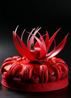 Author Creations by Pastry Chef Hans Ovando. World Chocolate Masters April 15 & 16 in Maria Selyanina's House-Pastry Lab. Fancy Desserts, Fancy Cakes, Delicious Desserts, Patisserie Fine, Decoration Patisserie, Pastry Art, Pastry Chef, Incredible Edibles, Mousse Cake