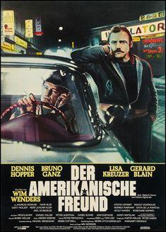 The American Friend (Wim Wenders, 1977) German design by Hans Peter Sickert