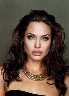 Angelina Jolie - Real life Greek Goddess if ever there was one