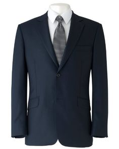 Savile Row Mens Navy Two Button Tailored « Clothing Impulse Fashion Sense For Men, Mens Fashion Suits, Mens Suits, Savile Row, Complete Outfits, My Wardrobe, Suit Jacket, Menswear, Men's Clothing