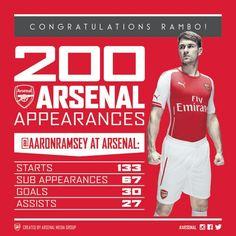 Ramsey Via @Arsenal