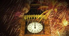 Bing Image Archive: England, London, Big Ben surrounded by fireworks at night -- Michael McQueen/Getty Images(Bing United Kingdom)