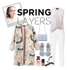"""Spring Contest"" by alienisgeek ❤ liked on Polyvore featuring Polaroid, Dolce&Gabbana, Lanvin, Kristin Cavallari, Yves Saint Laurent, NARS Cosmetics and Bobbi Brown Cosmetics"
