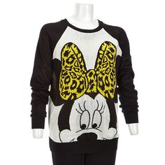 Minnie Mouse Bow Sweater - Jr.