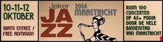 Jeker Jazz op 10, 11 en 12 oktober. Ook iedere avond bij ons vanaf 20:00!