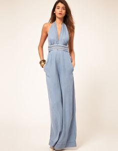 Enlarge Miss Sixty Denim Jumpsuit Denim Overall, Playsuits, Jumpsuits, Dress Up Boxes, Miss Sixty, Denim Jumpsuit, Asos Online Shopping, Latest Fashion Clothes, Boho Chic