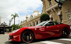Ferrari 599 GTO in red gloss