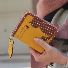 Fashion Small Wallet Women Short Luxury Brand Cute Female Purse PU Leather Cat Design Girls Lady Zipper Wallets Card Holder Bags
