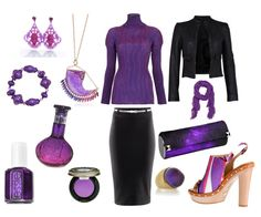 purple and black are the best colors ever :D