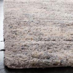 Safavieh Berber Shag Gray/Cream 5 ft. x 5 ft. Square Area Rug BER219G-5SQ – The Home Depot