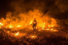 A photographer's work fighting fires gave him rare, up-close access to California's wildfire epidemic.