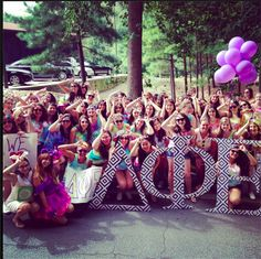 #DPhiE showing their spirit at the #Emory 2014 #Homecoming Parade.