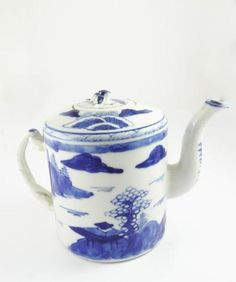 Charming Antique Early 19th Century Canton Chinese Export Porcelain Teapot | eBay