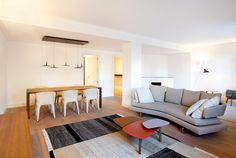 In questo splendido appartamento a Barcellona materiali di q…