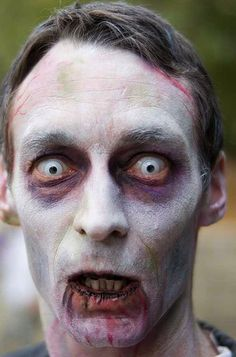 Special Effects Makeup Techniques   Zombie Makeup Tips and Tricks & Fake Blood Recipes! Halloween Special ...