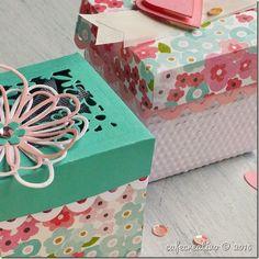 Favor box: Sizzix Big Shot Plus Starter Kit; Sizzix Big Shot Plus, Shots Ideas, Tutorial, Exploding Boxes, Explosion Box, Favor Boxes, Starter Kit, Decorative Boxes, Paper Crafts