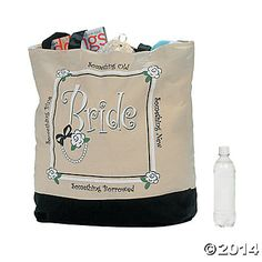 """""""Bride"""" Tote Bag"""
