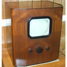 Early television sets were mechanical, but by the 1930s TVs had become entirely electronic.