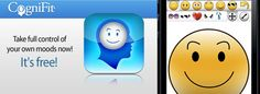 CogniFit MoodCraft is an iPhone mood app that provides users with an easy way to express their emotions to others. The iPhone mood app features a built in emoticon designer that lets you create personalized moods based on the how you feel and share them with your friends.
