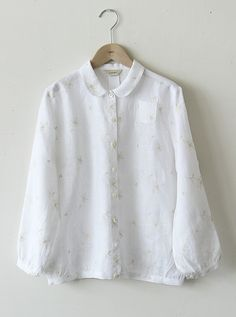 Dress Outfits, Fashion Dresses, Stitching Dresses, Linen Blouse, Ulzzang Fashion, Hades, Korean Outfits, Comfortable Outfits, Cute Tops