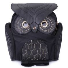 Stylish Owl Shape Solid Color Design Women Shoulde Handbag Type: Satchel Style: Fashion Gender: For Women Pattern Type: Solid Handbag Size: Closure Type: Zipper Occasions: Versatile Main Material: Nylon High End Distribution Bags Satchels Satchel Purse, Satchel Handbags, Black Satchel, Crossbody Bag, Prada, Owl Purse, Gucci, Mk Bags, Cheap Bags