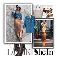 """""""Sheinside X-1"""" by zijadaahmetovic ❤ liked on Polyvore featuring Rebecca Minkoff"""
