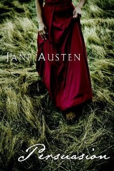 pretty book cover. persuasion by jane austen